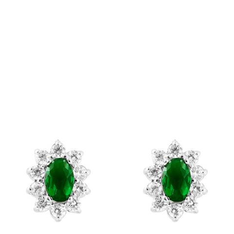 Wish List Emerald Zirconium Oxides Earrings