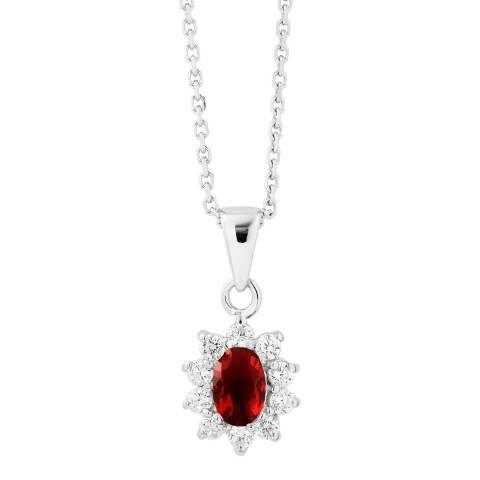 Wish List Ruby Zirconium Oxides Necklace