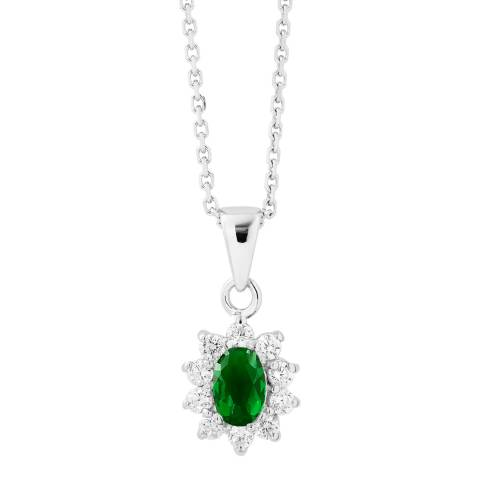 Wish List Emerald Zirconium Oxides Necklace