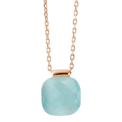 Wish List Turquoise Crystal Linea Moda Necklace