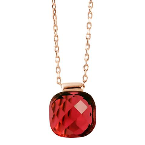 Wish List Red Crystal Linea Moda Necklace