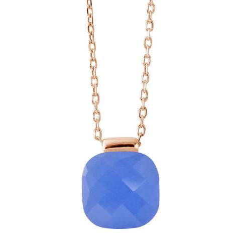 Wish List Blue Crystal Linea Moda Necklace