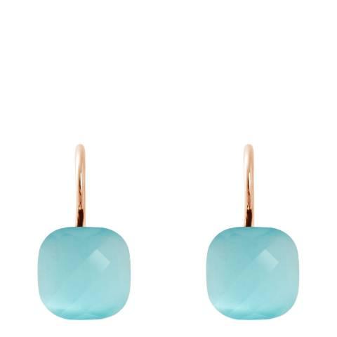 Wish List Turquoise Crystal Linea Moda Earrings