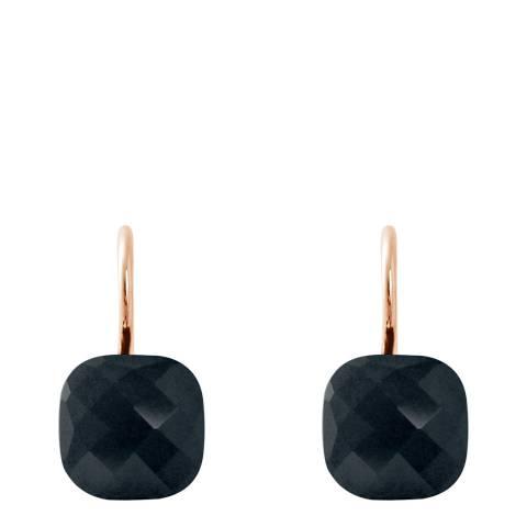 Wish List Black Crystal Linea Moda Earrings
