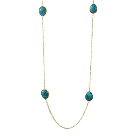 Liv Oliver Turquoise Necklace