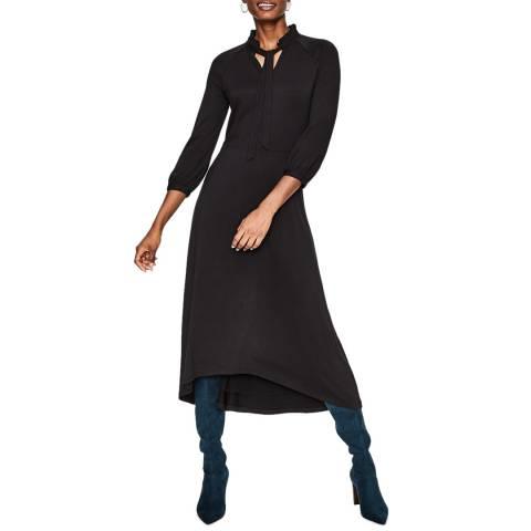 Boden Black Rosa Jersey Midi Dress