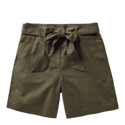 Boden Khaki Cora Shorts