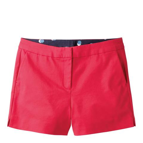 Boden Party Pink Richmond Shorts