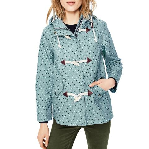 Boden Heritage Blue, Scattered Stars Whitby Waterproof Jacket
