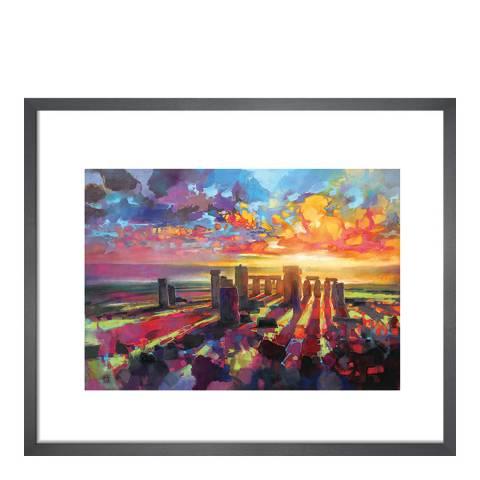 Scott Naismith Stonehenge Equinox Framed Print, 30x40cm
