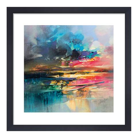 Scott Naismith Dissolving Shoreline Framed Print, 40x40cm
