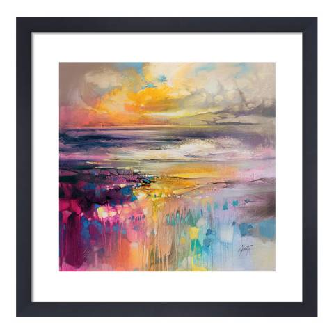 Scott Naismith Liquid Reflections Framed Print, 40x40cm
