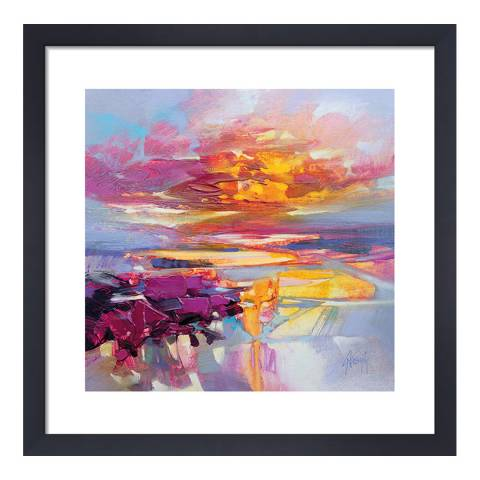 Scott Naismith Uist Causeways 2 Framed Print, 40x40cm