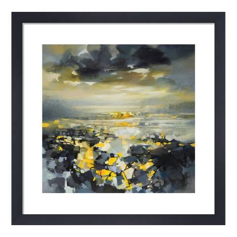 Scott Naismith Yellow Matter 1 Framed Print, 40x40cm