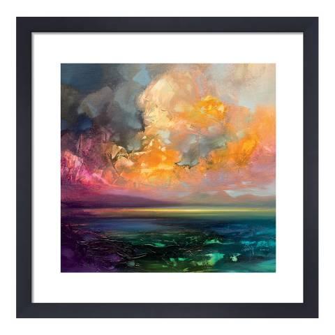 Scott Naismith Isle of Jura Emerges Framed Print, 40x40cm