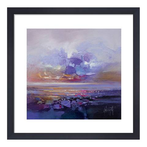 Scott Naismith Colour Collision Study Framed Print, 40x40cm