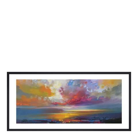 Scott Naismith Uig Clouds Framed Print, 30x60cm