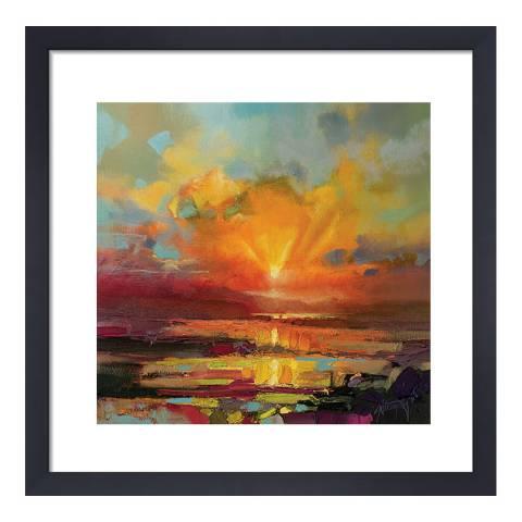 Scott Naismith Optimism Sunrise Study Framed Print, 40x40cm