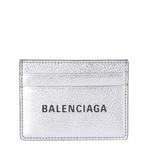 Balenciaga Metallic Balenciaga Card Holder