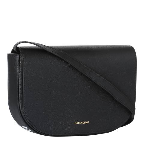 Balenciaga Black Signature Shoulder Bag