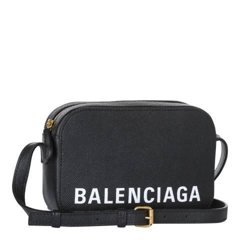 Balenciaga Black Everyday Logo Camera Bag