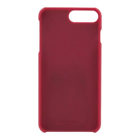 Knomo Red Apple Iphone 7+ Snap On Case