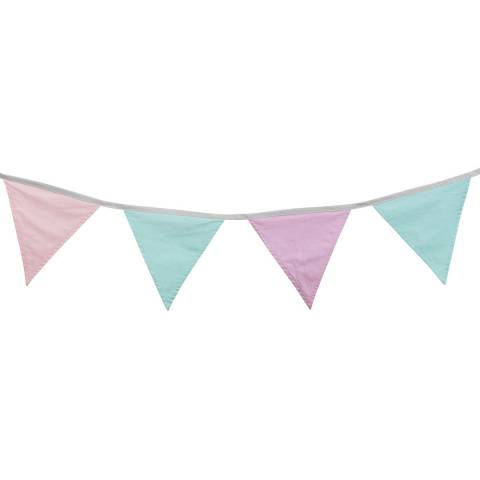 Kids Concept Pink & Green Multi Bunting