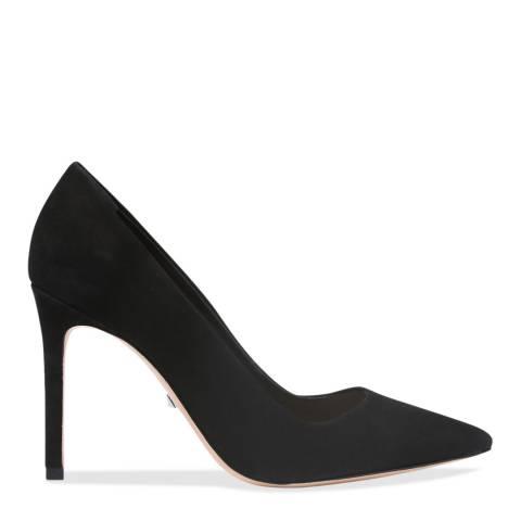 Schutz Black Suede Farrah Heeled Shoes