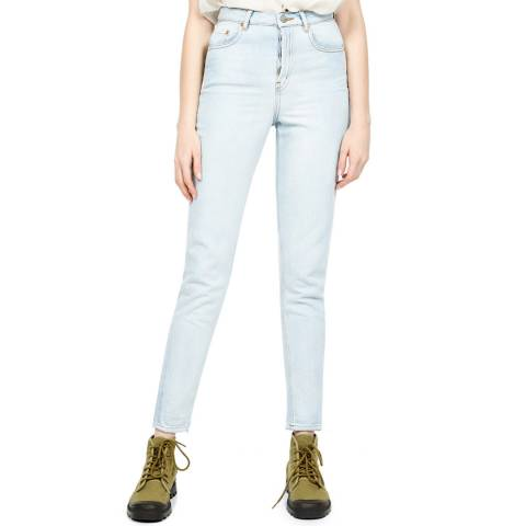 American Vintage Blue Mom Fitted Jeans