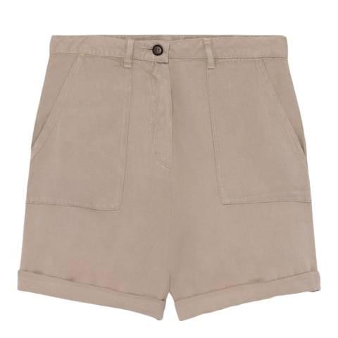 American Vintage Brown Mid Long Straight Short