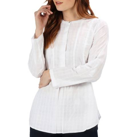 Regatta White Dobby Maladee Shirt