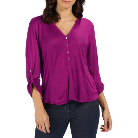 Regatta Dark Pink Fiorella Top