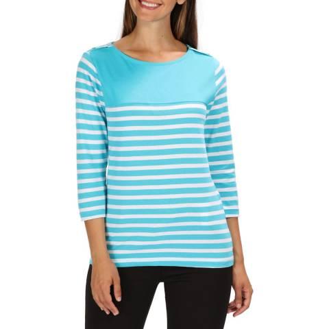 Regatta Turquoise Stripe Pandara T-Shirt
