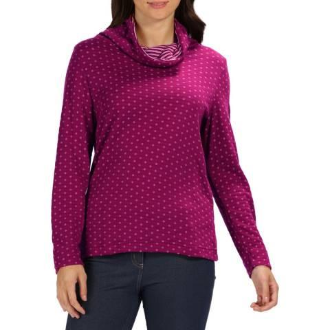Regatta Dark Pink/Mellow Rose Harmonia Sweater