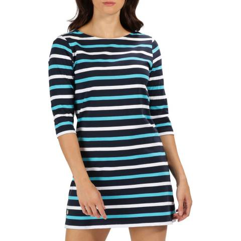Regatta Navy Stripe Harlee Jersey Dress