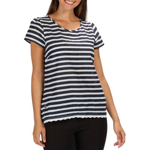 Regatta Navy Stripe Jakayla Top