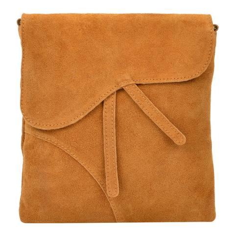 Luisa Vannini Marmalade Suede Luisa Vannini Leather Shoulder Bag