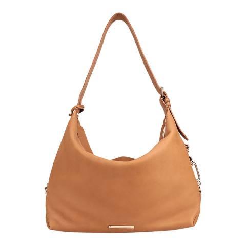 Amanda Wakeley Tan Costner Leather Bag