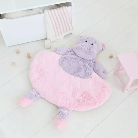 My 1st Years Pink Hippo Playmat