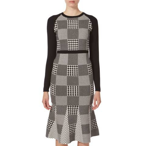 Karen Millen Mini-check Midi Dress