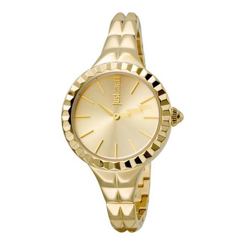 Just Cavalli Gold Plated Watch 34mm