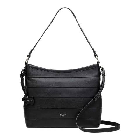 Radley Black Medium Zip Top Shoulder Bag