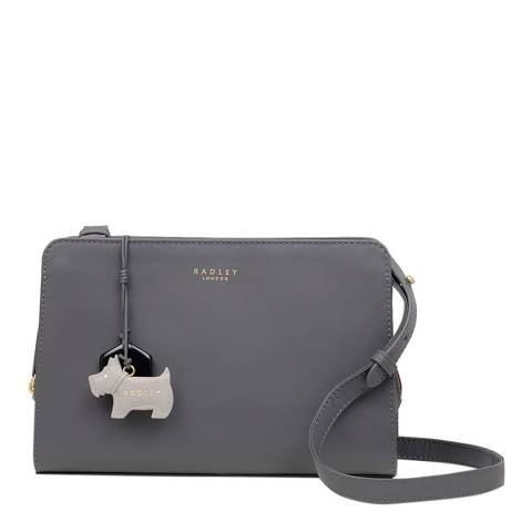Radley Dark Grey Liverpool Street Medium Zip Top Crossbody