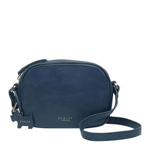 Radley Petrol Small Ziptop Crossbody Bag