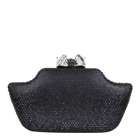 Sofia Cardoni Black Curved Clutch