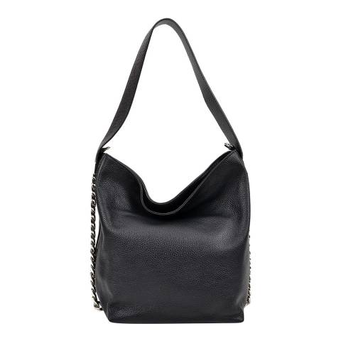 Luisa Vannini Black Luisa Vannini Chain Detail Bag