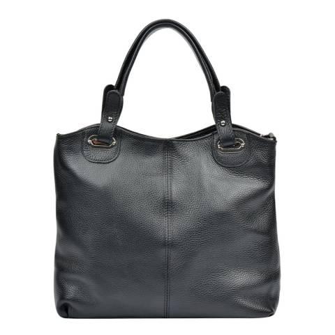 Luisa Vannini Black Luisa Vannini Top Handle Bag