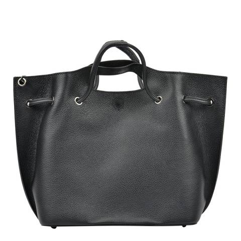 Mangotti Black Mangotti Top Handle Bag