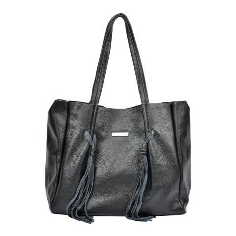 Luisa Vannini Black Luisa Vannini Shopper Bag