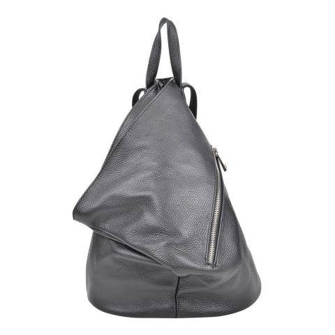 Isabella Rhea Black Isabella Rhea Leather Backpack